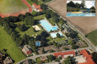 Stadtwerke Haltern Hallen-und Freibad Aquarell - Swimming ...