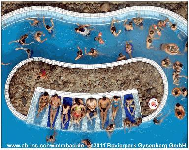 Gysenbergpark schwimmen