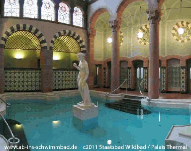 Erlebnisbad Palais Thermal Bad Wildbad Bad Wildbad